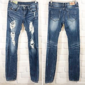 MACHINE | Skinny Denim Jeans